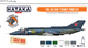 "Yak-38/38M ""Forger"" paint set , sada barev - 1/2"