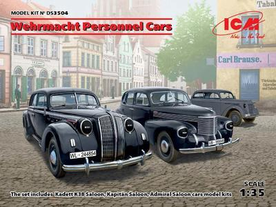 Wehrmacht Personnel Cars  (3 kits)