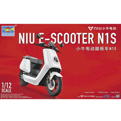 NIU E-Scooter N1S 1:12, pre-painted