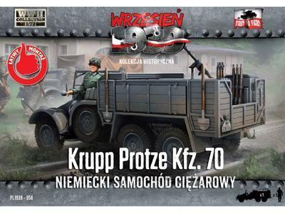 Krupp Protze Kfz 70 Niemiecky Samochod Ciezarowy