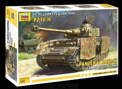 Panzer IV Ausf. H.,  German medium tank - 1