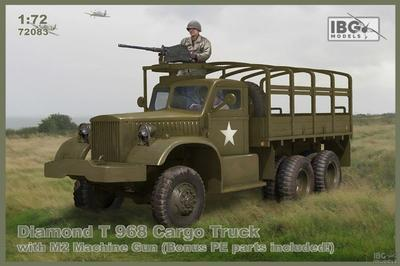 Diamond T 968 Cargo Truck with M2 Machine Gun