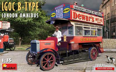 LGOC B-Type London Omnibus - 1