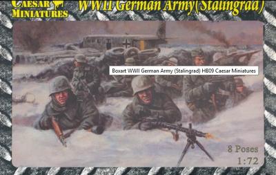 WWII German Army (Stalingrad) , 8 poses