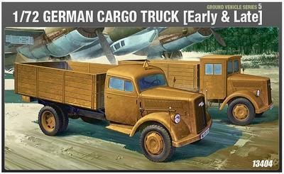 German Cargo Truck  (Early & Late)