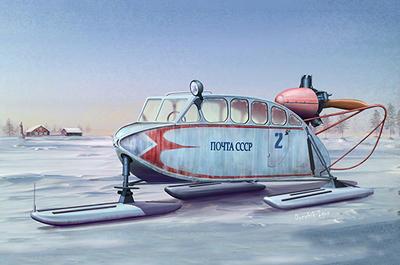 Soviet NKL-6 Aerosan - 1