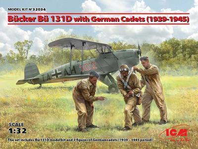 Bücker Bü 131D with German Cadets (1939-1945)