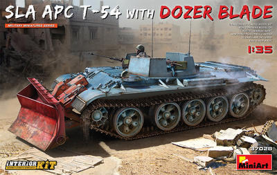 SLA APC T-54 w/DOZER BLADE. INTERIOR KIT - 1