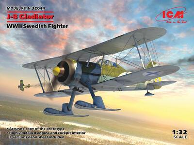 J-8 Gladiator, WWII Swedish Fighter   - 1