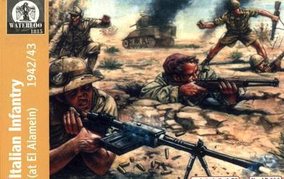 Italian Infantry (at El Alamein) 1942/43  - 1