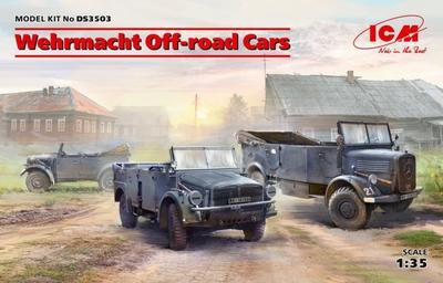 Wehrmacht Off-road Cars Diorama Set (3 kits)