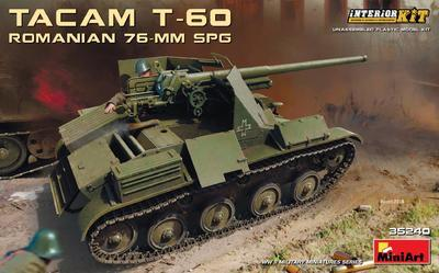 Tacam T-60 Romanian 76mm SPG - 1