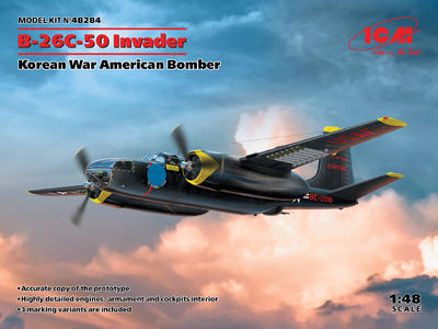 B-26?-50 Invader, Korean War American Bomber - 1