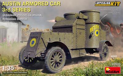 AUSTIN ARMORED CAR 3rd SERIES: UKRAINIAN, POLISH, GEORGIAN, ROMANIAN SERVICE. INTERIOR KIT - 1