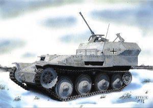 Flakpanzer 38(t) Germ. WWII Anti-Aircraft Gun