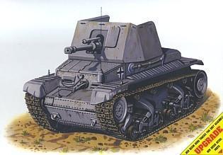Pz Jäg 35(t) German self-propel. antitank gun