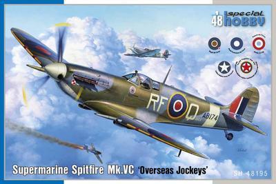 "Supermarine Spittfire MK.VC ""Overseas Jockeys""  - 1"