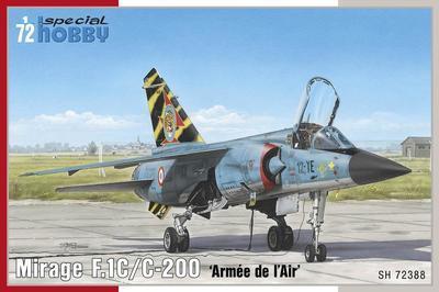"""Mirage F.1C/C-200 """"Arnée de ´l Air´ - 1"""