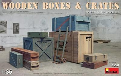 Wooden Boxes & Crates - 1