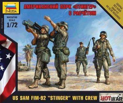 "US SAM FIM-92 ""Stinger"" with Crew"