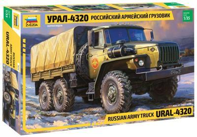 Russian Army Truck Ural - 4320 - 1