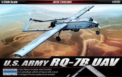 U.S. Army RQ-7B UAV + 2fig.  - 1