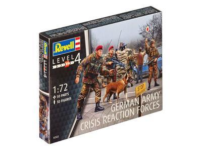 German Army Crisis Reaction Forces, 50fig.