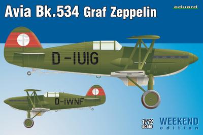 Avia Bk-534 Graf Zeppelin,  Weekend Edition