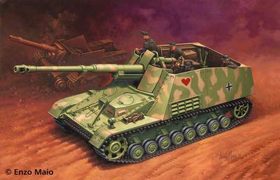 """Sd.Kfz. 164 """"Nashorn"""" - 1"""