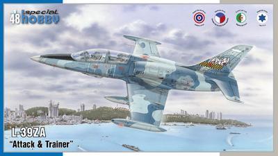 """L-39ZA/ART Albatros """"Attack  & Trainer"""" - 1"""