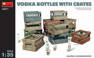 Vodka Bottles with Cartes (incl. decals)