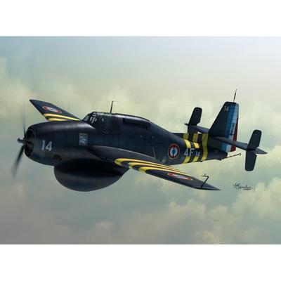 "TBM-3W ""Guppy"" Aeronautique Marine,Kon.Marine"