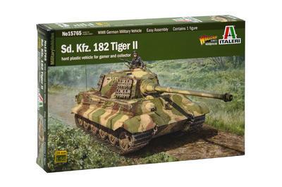 Sd.Kfz. 182 Tiger II, Warlord games, 1:56  - 1