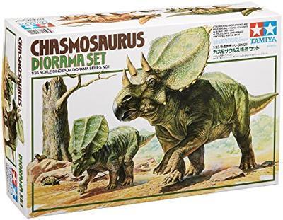Chasmosaurus Diorama - Dinosaurus