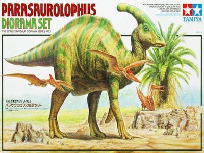 Parasaurolophus Diorama