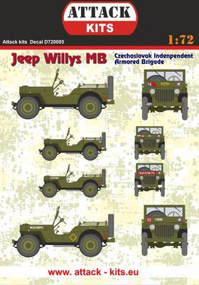 Jeep Willys MB Czech Independent Armoured Brigade - 1