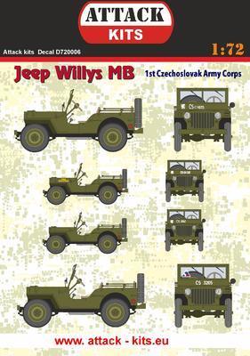 Jeep Willys MB 1st Czechoslovak Army Corps - 1