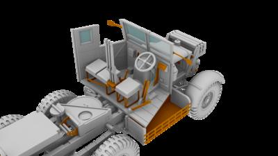 Scammell Pioneer SV/2S Heavy Breakdown Tractor - 2
