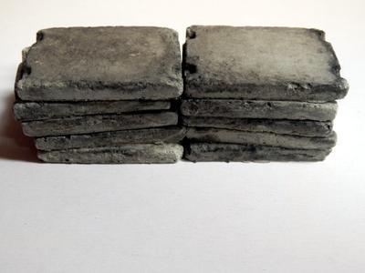 Betonové panely 1:72 4ks - 2