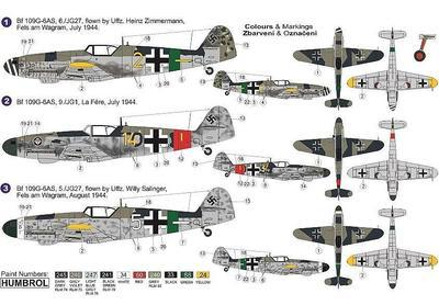"""BF 109G-6AS """"Reich Defence"""" - 2"""