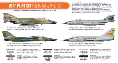 USAF Paint Set (Vietnam War Area), sada barev - 2
