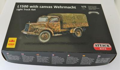 L1500 with canvas Wehrmacht Light Truck 4x4 - 2