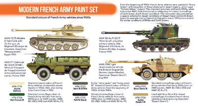 Modern French Army Paint Set, sada barev - 2