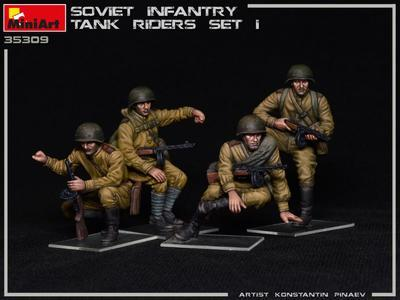 Soviet Infantry Tank Riders Set 1 - 2