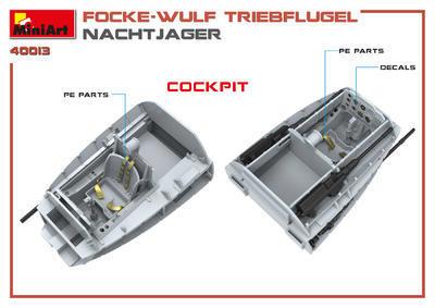 Focke -Wulf Triebflugel Nachtjager - 2