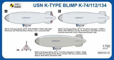 USN K-TYPE BLIMP K-74/112/134 - 2