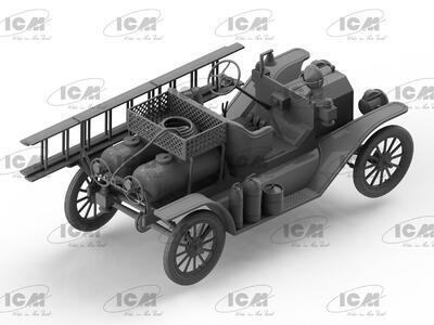 Model T 1914 Fire Truck, American Car  - 2