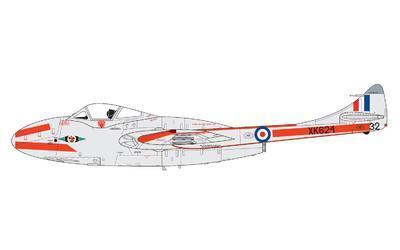 De Havilland Vampire T.11/J-28C - 2