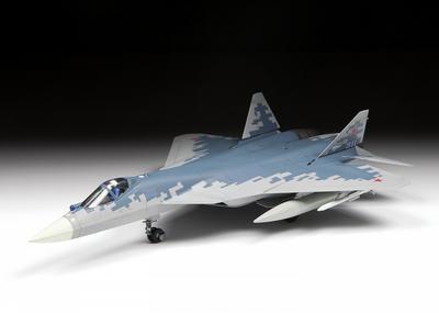 Russian Fift-Generation Fighter SU-57 - 2