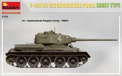 T-34/85 CZECHOSLOVAK PROD. EARLY TYPE - 2